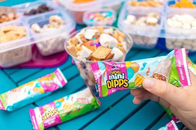 Birthday Blast Chewy Mini Dipps Trail Mix for On-the-Go Snacking!
