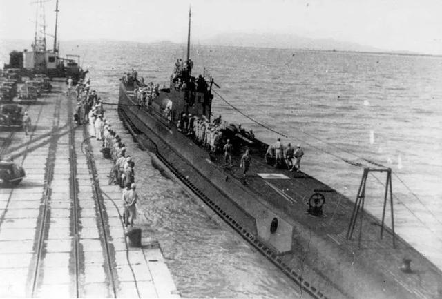 I-10 in port at Penang, 1942 worldwartwo.filminspector.com