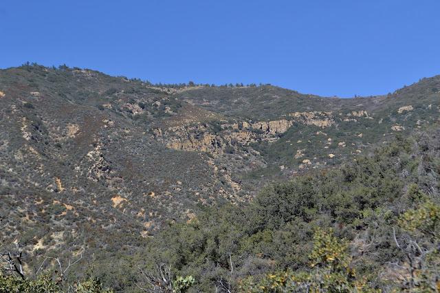 Pine Mountain cliffs
