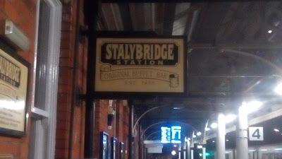 Buffet Bar at Stalybridge Station