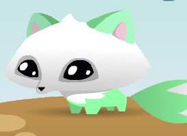 Image of: Alicelps They Are Sooo Cute Got One First Thing This Is How It Looks What Do You Think Remember To Leave Comment And Ill See You Next Time Gowl20s Animal Jam Fun Gowl20s Animal Jam Fun Aj Arctic Fox Pets