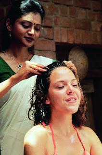 Ayurvedische hoofdmassage voor gezonder haar