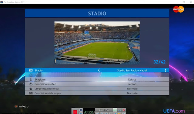 PES 2017 New San Paolo Stadium Mod by EnzoNbs