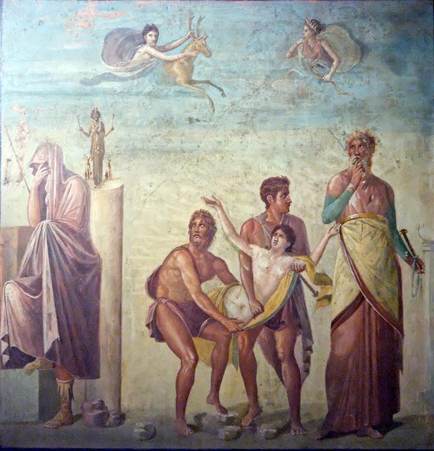 фреска Ифигения в Тавриде