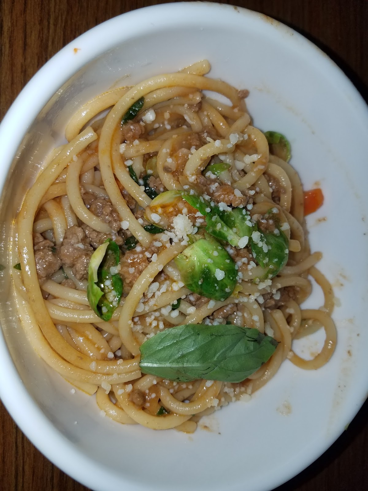 Blue apron bucatini - If There S One Thing I Think This Recipe Could Have Used With Even Though I Loathe Red Sauce Would Be More Tomato Maybe Adding Some Tomato Paste In