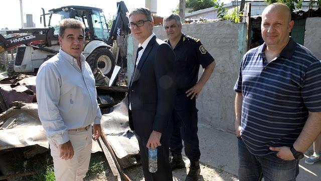 """Ritondo: """"Derribamos búnkeres para construir futuro"""""""
