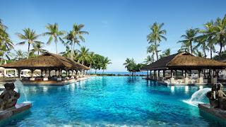 InterContinental Resort Bali, antara pantai, matahari dan hotel