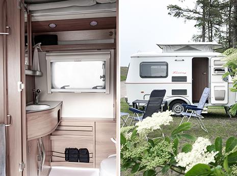 Hometour - Wohnwagen Eriba 320 Familia - mein kleines Raumwunder. Mit dem Wohnwagen on Tour!