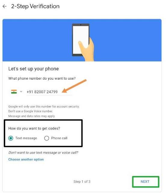 2 step verification gmail id me kaise kare
