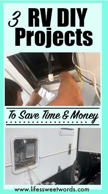 RV DIY Projects to Save Time and Money