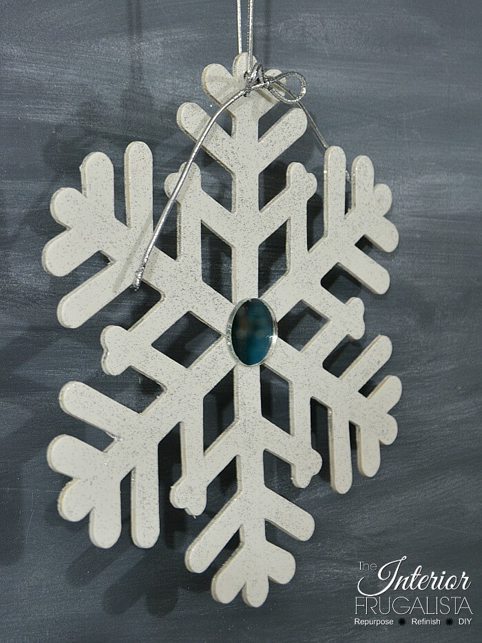 Large Kids Snowflake Craft Idea Two