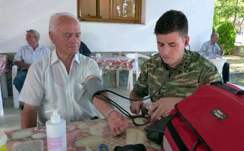 Στρατιωτικό ιατρικό κλιμάκιο στην Αμφιτρίτη Αλεξανδρούπολης