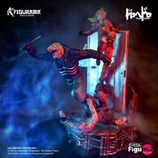 Figurama Collectors revela la figura Dorohedoro: Caiman & Nikaido Elite FigumiZ.