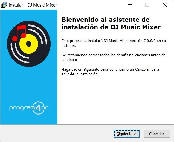 Program4Pc DJ Music Mixer 7.0.0 Imagenes