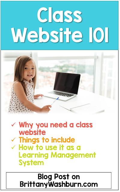 Do you have a class website yet? If you do, is it aimed mostly at parents or students? I would like to challenge you to change the way you think of class websites and move toward using yours like a Learning Management System.     The benefits are numerous, but the most important one is all of the time it will save you. Let me show you!