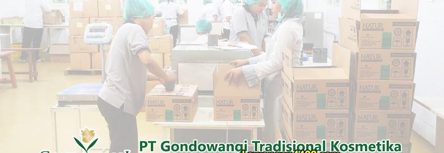 Lowongan Kerja PT Gondowangi Tradisional Kosmetika Jababeka