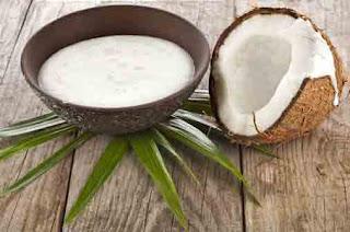 Coconut Milk- papaya Hair mask