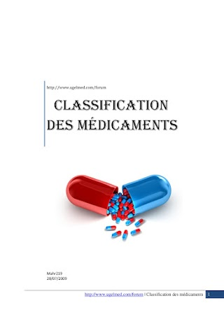 Classification des médicaments