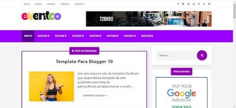 Eventco Responsive Blogger Template