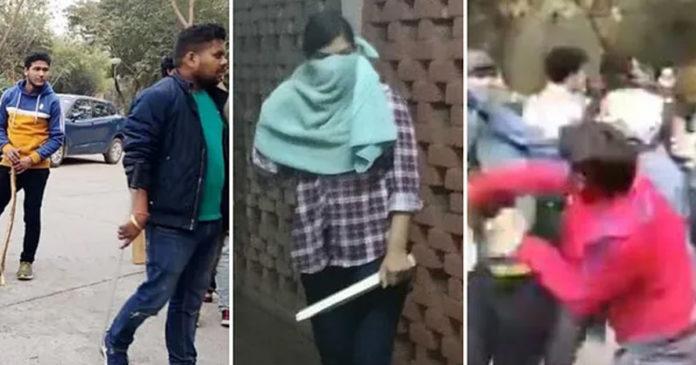 Maoist woman found masked by JNU clash Report sent to Delhi Police,www.thekeralatimes.com