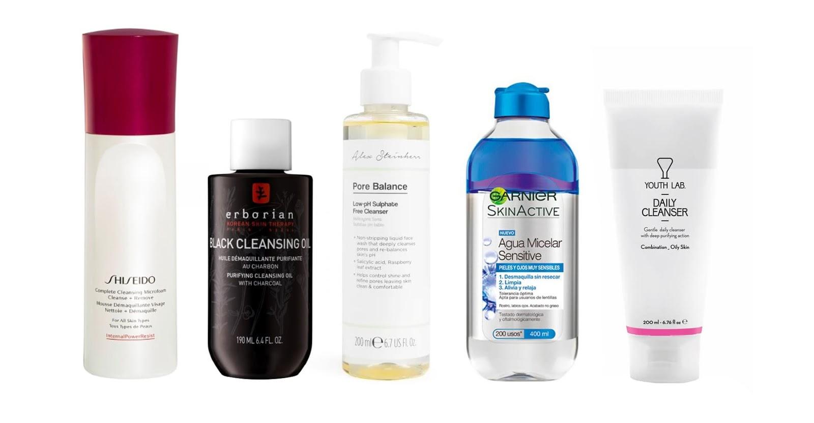 como limpar a pele do rosto?