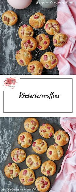 Rhabarbermuffins | Backen | Rezept | Frühling | Muffins