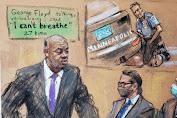 Jaksa Tunjukkan Video Mengenaskan George Floyd di Pengadilan