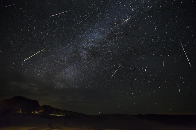 Chuva de Meteoros Perseidas - Jason Weingart