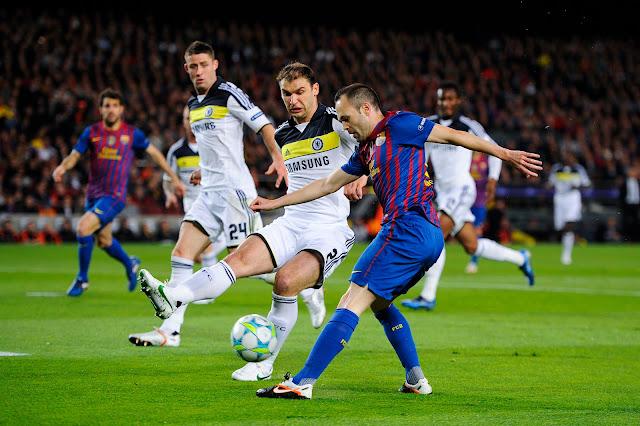 مباراة برشلونة وتشيلسى اليوم والقنوات الناقلة بي أن سبورت HD1