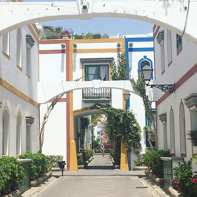 Seeing the sights, and enjoying some well-earned, long-awaited rest and reflection in Puerto de Mogan and Taurito, Gran Canaria