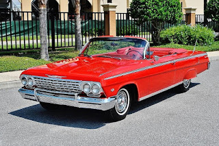 1962 Chevrolet Impala SS Convertible Front Left