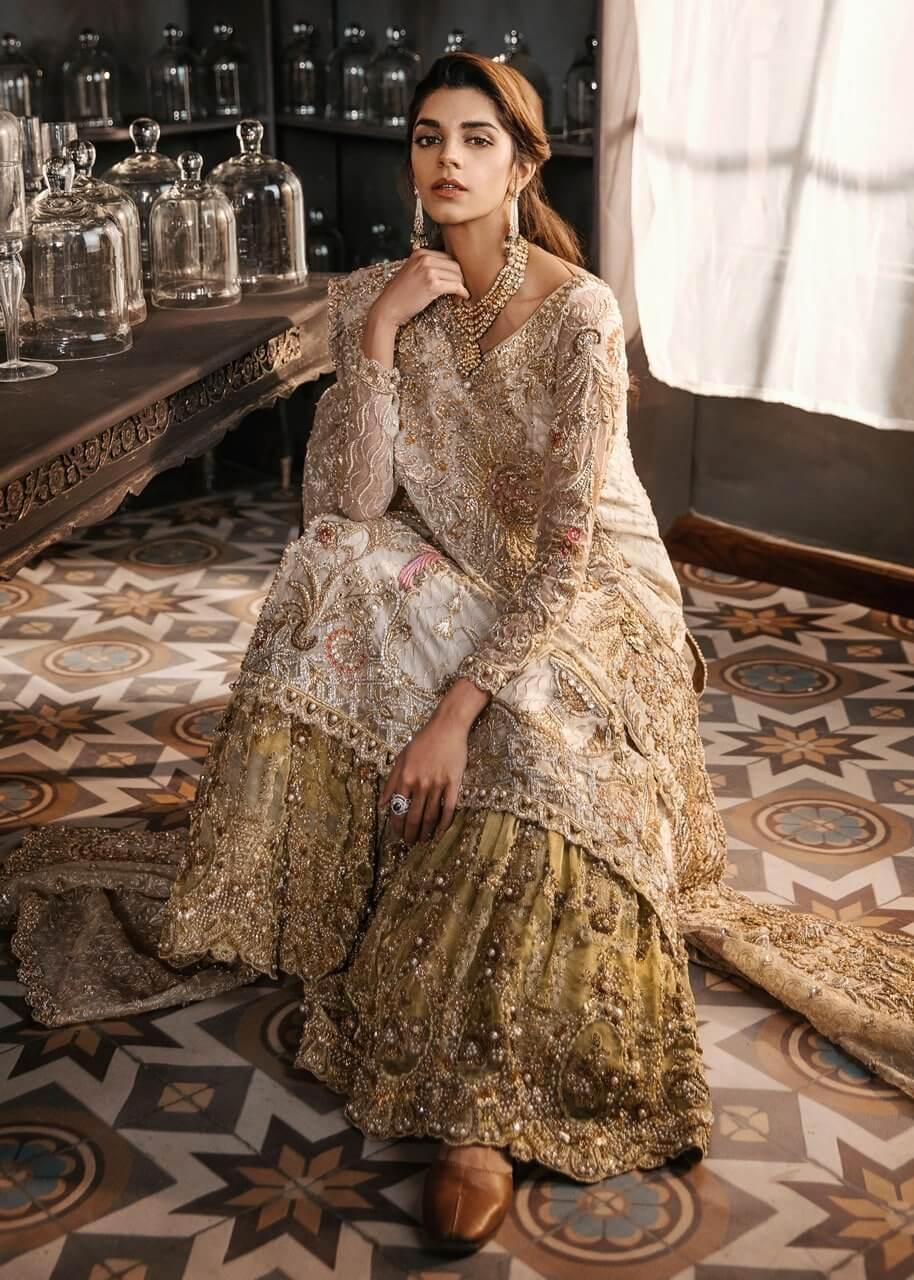 Sadaf Fawad Khan Bridal Sharara
