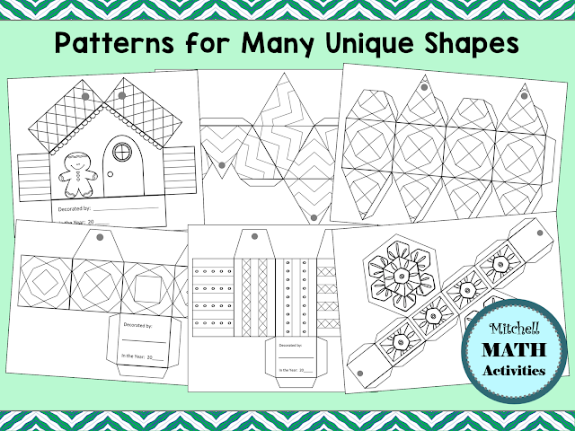 Several different do-it-yourself holiday ornament patterns