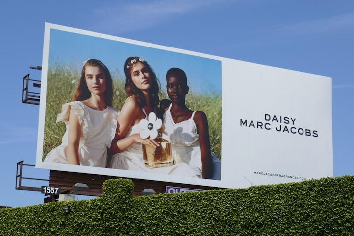 Marc Jacobs Daisy 2020 fragrance billboard