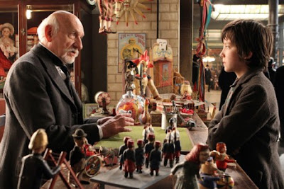 papa george, hugo, ben kingsley, asa butterfield