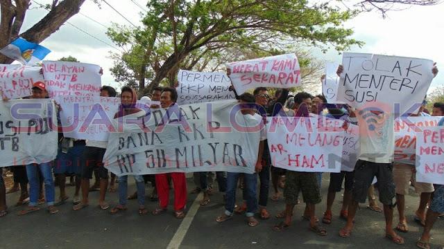 Dituding Menambah Pengangguran, Menteri Susi Disambut Demo Nelayan