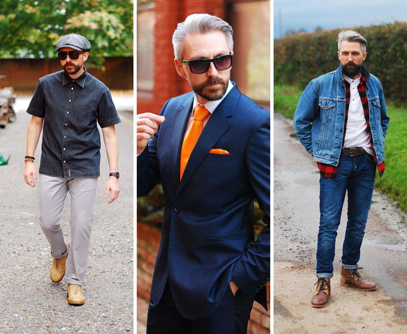 Over 40 menswear blog, Silver Londoner