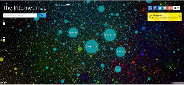 Internet Map Live