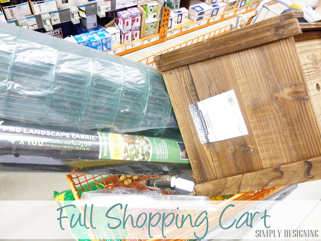Shopping, DIY Flower Tower, Home Depot #sponsored #digin #heartoutdoors #spring