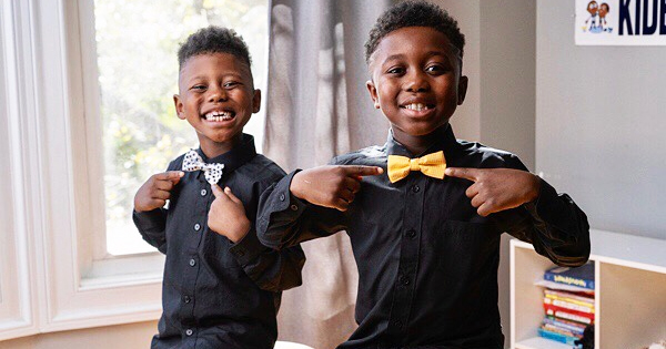 Treandos and Noah Thornton, founders of T&N Bow Ties and Apparel