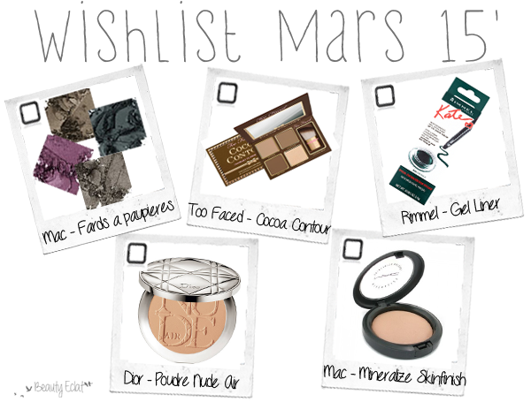 wishlist beaute mac dior