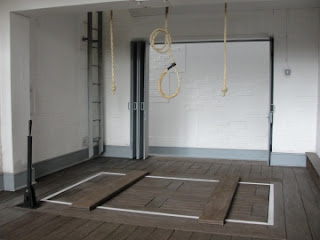 Model of Wandsworth prison gallows