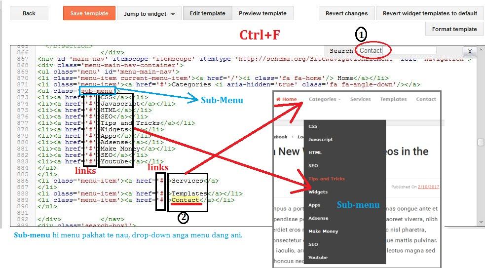 html karah link siam dan
