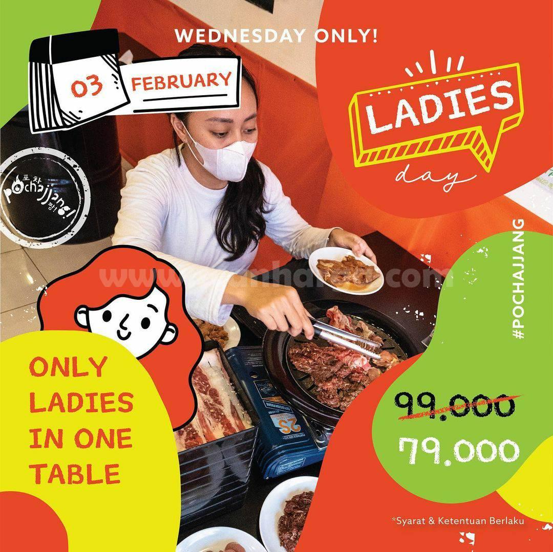 POCHAJJANG Promo Special LADIES DAY! Paket Premium All You Can Eat cuma Rp 79.000