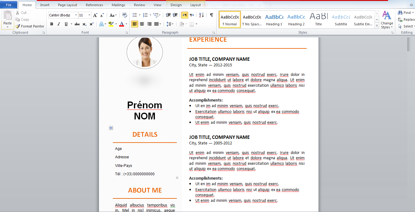 cv template word gratuit resume pdf cv template word gratuit cv template curriculum vitae template and cv example if you enjoyed