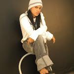 Andrea Rincon, Selena Spice Galeria 19: Buso Blanco y Jean Negro, Estilo Rapero Foto 38