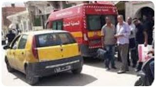 القيروان: حريف يمتنع عن تسديد أجرة التاكسي ويعتدي بقضيب حديدي على السائق