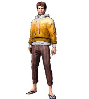 Free Fire Character PNG
