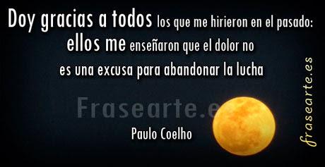 Mensajes de lucha de Paulo Coelho