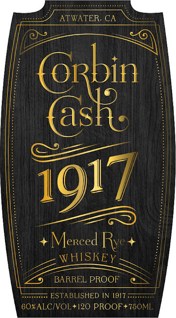 Corbin Cash 1917 Merced Rye Whiskey Barrel Proof